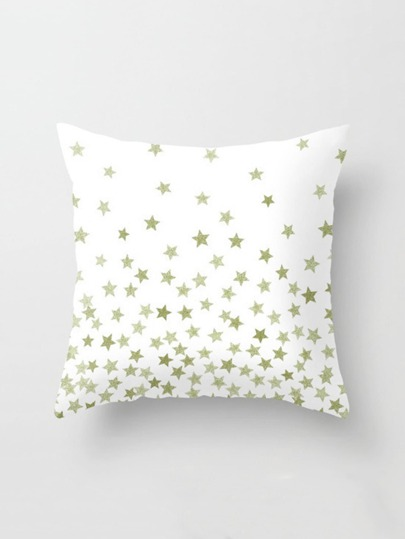 Star Print Pillowcase Cover
