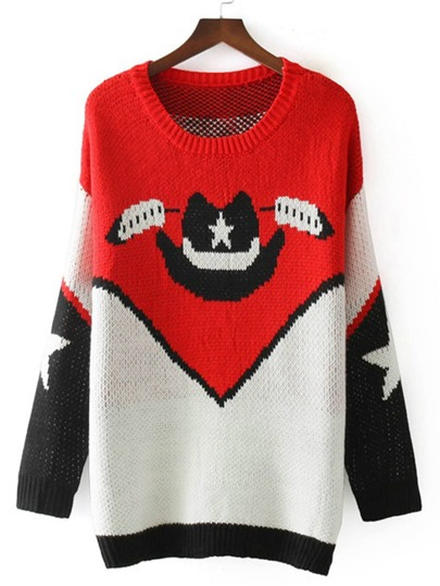 Hat Pattern Longline Jumper Sweater