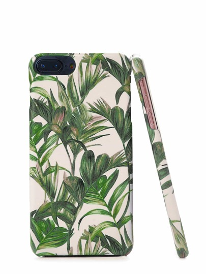 Funda de iPhone con planta