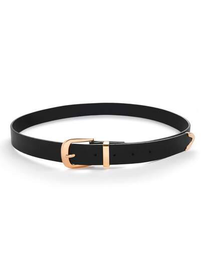 Cintura con fibbia metallica
