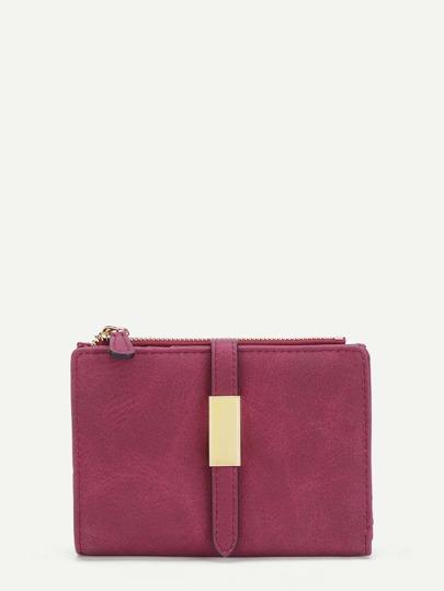 Модный кожаный кошелёк