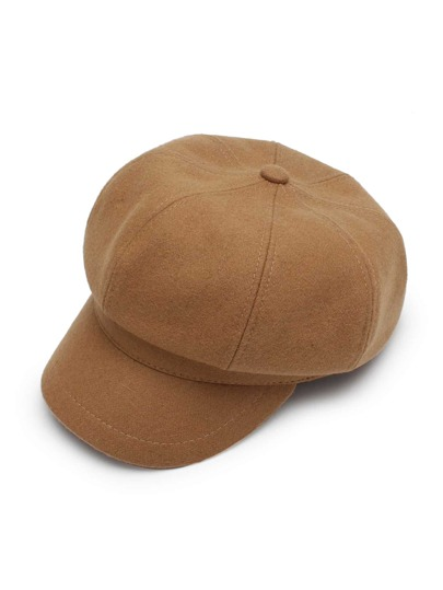 Bakerboy Kappe aus Wollmischung