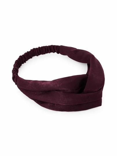 Plain Twist Headband