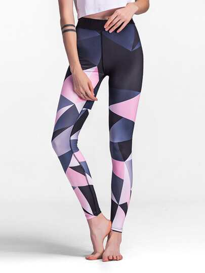 Leggins en color block
