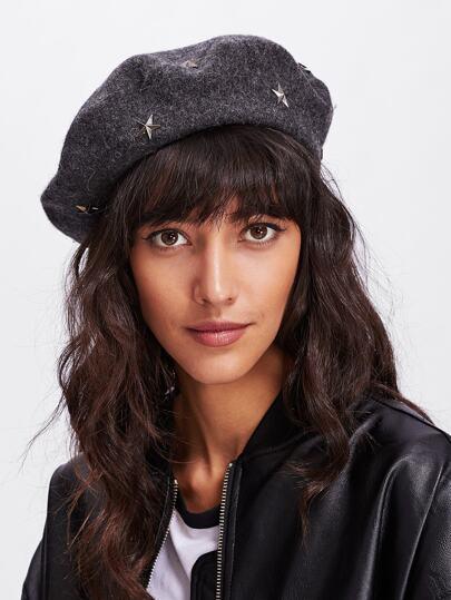 Star Beret Hat