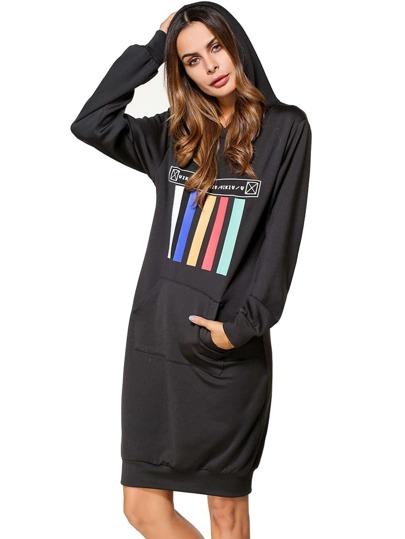 Vestido estilo sedadera con estampado
