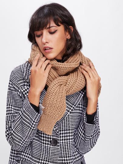 Écharpe tricoté texture