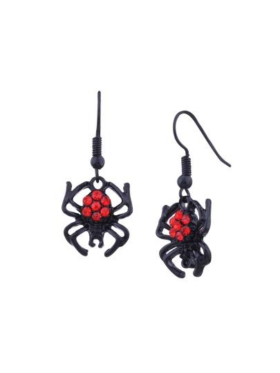 Spider Design Drop Earrings