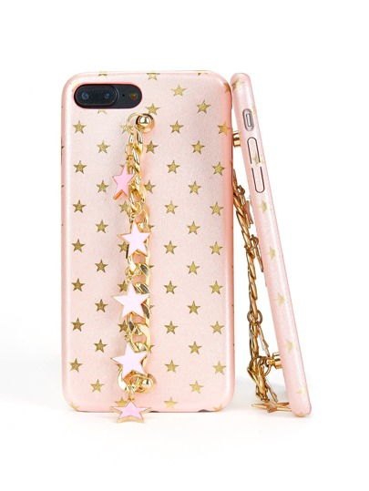 Metallic Star Decorated iPhone Case