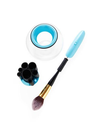 Ensemble de Nettoyant pour pinceaux de maquillage électrique