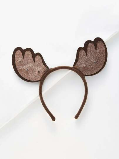 Christmas Elk Horn Headband