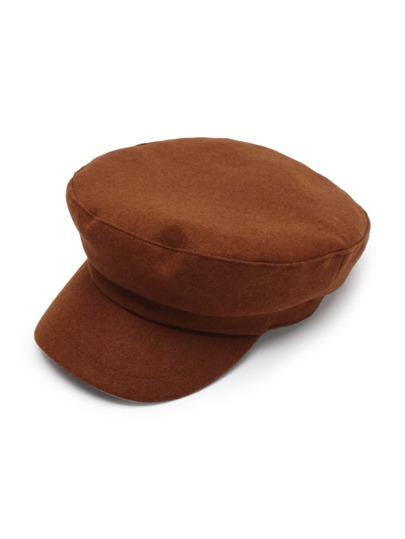 Wool Blend Newsboy Hat