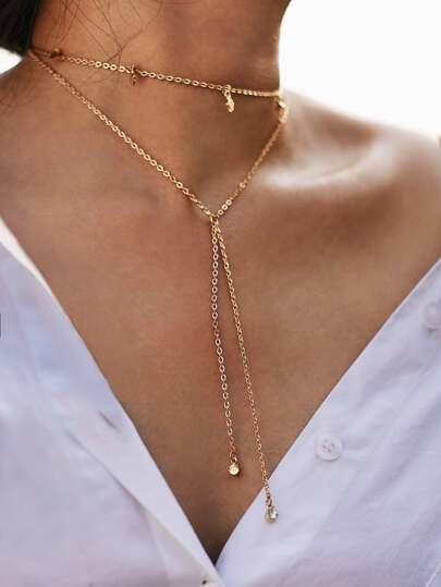 99768dc053 Women's Fashion Necklaces-Global SheIn(Sheinside) – Page 2