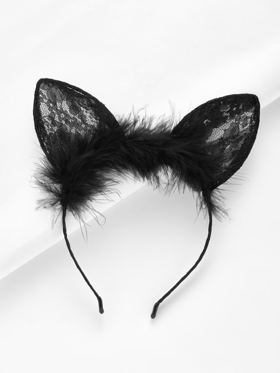 Lace Ear Headband