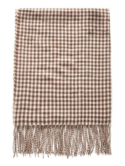 Écharpe avec garniture de frange