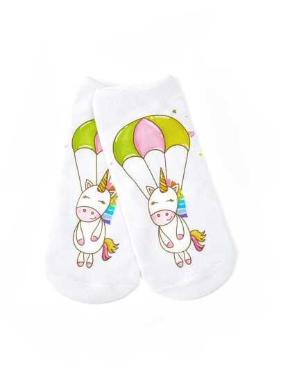 Calcetines con caricatura