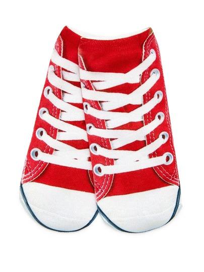 Calcetines en forma de zapatos