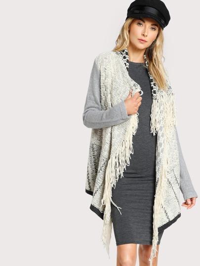 Wool Knit Sweater GREY