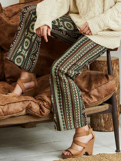 Tribal Print Pants
