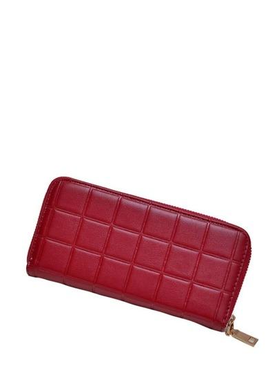 أحمر حقيبة اليد