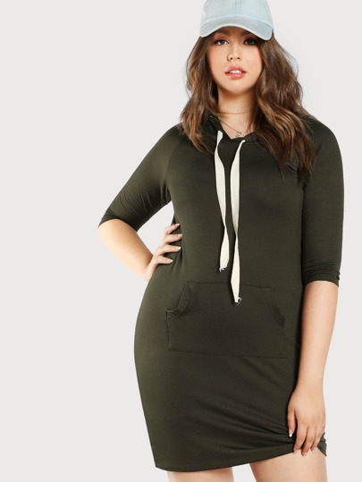 Basic Hoodie Dress