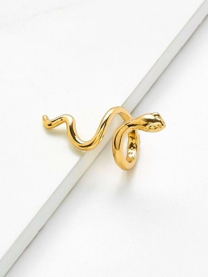 Smooth Snake Design Ring