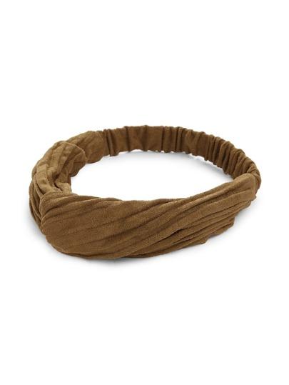 Pleated Twist Headband