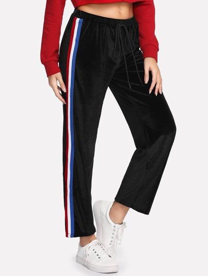 Pantaloni felpati in vellutto