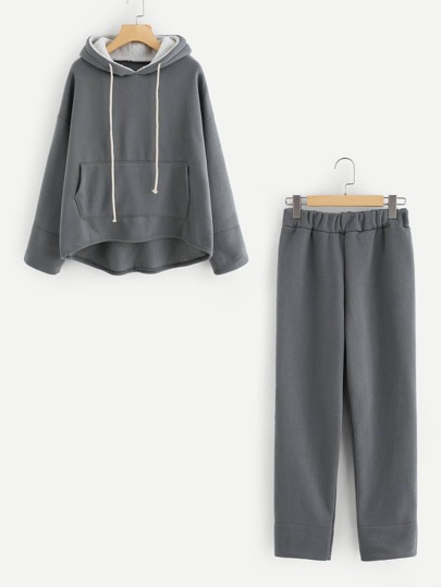 Kangaroo Pocket Hoodie And Pants