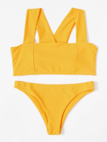 Sets de bikini con tira ancha
