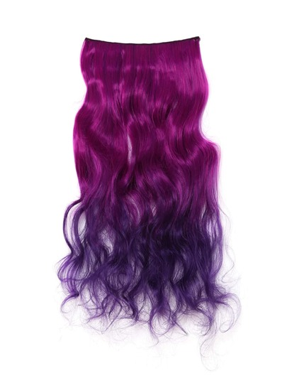 Ombre Soft Wave Hair Extension 1pcs