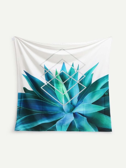 Plant Print Tapestry