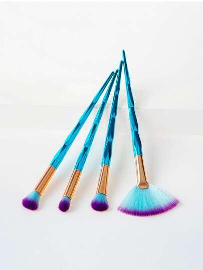 Diamond Handle Makeup Brush 4pcs