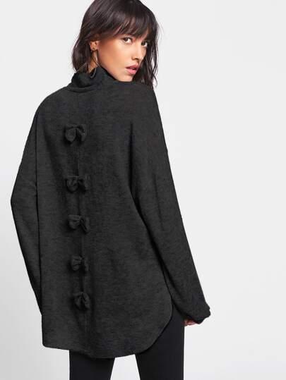 Maglione con spacco laterale