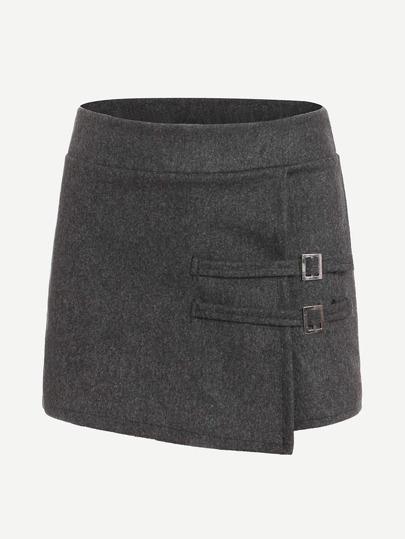 Jupe-culotte en tweed