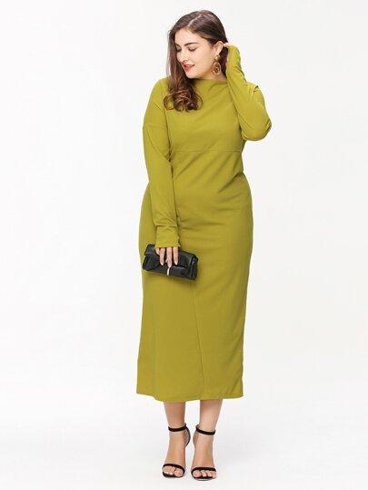 Übergroßes Maxi Kleid