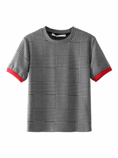 Top di Houndstooth