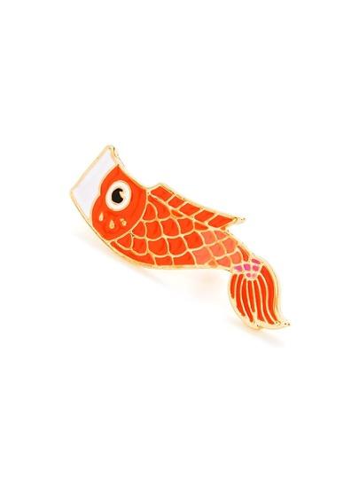 Broche design de poisson 1 pièce