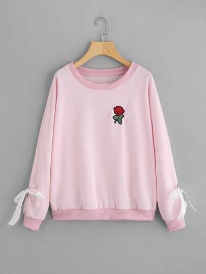 Hose rosa verfarbt
