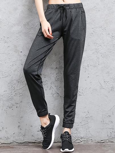 Sweat-pantalons avec piqûre contrastée