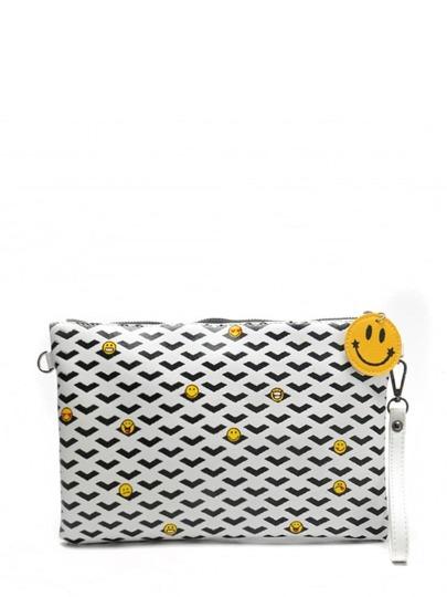 حقيبة اليدي بدون الفروس مع السلسلة اللون الاسود