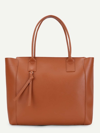 Over Sized PU Tote Bag