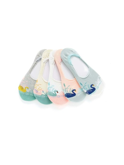 Chaussette invisible 5paires