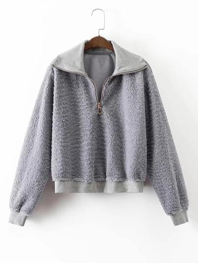 Sudadera en lana de cordero