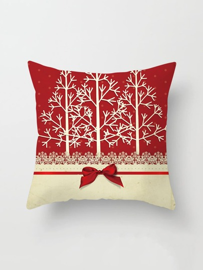 Christmas tree Print Pillowcase Cover