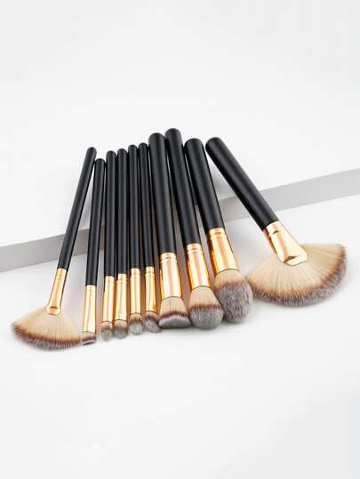 Ensemble de Pinceau de maquillage 10pcs