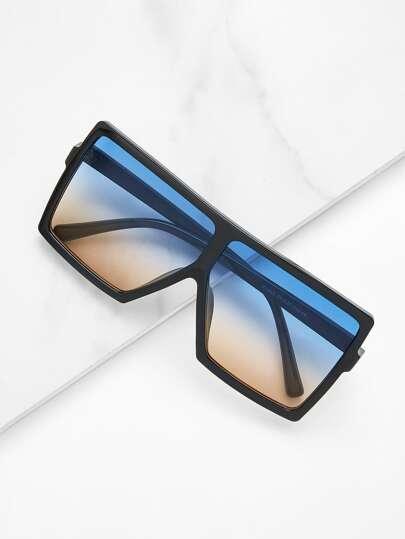 Gafas de sol de superficie plana