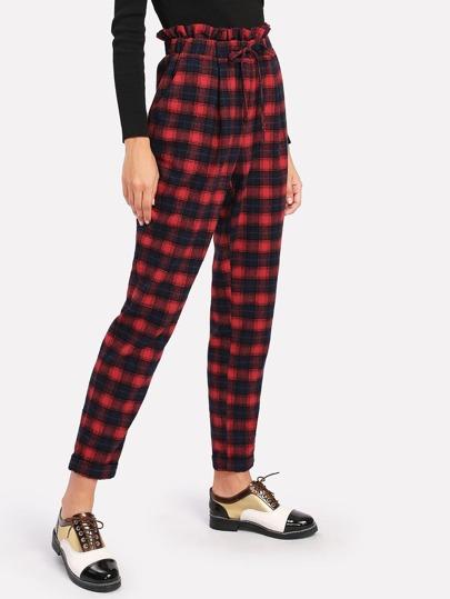 Pantalons avec cordon de taille