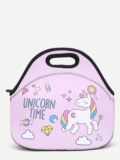 Horse Print Lunch Bag