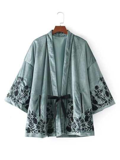 Kimono in velluto